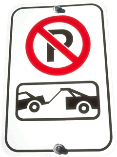 Signs tow away zone 1 1 - Towing and Recovery Operations