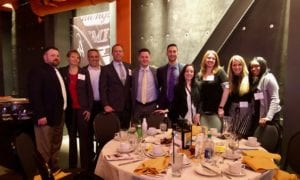 Dinner 300x180 - The Morning Call Names Brown & Brown Lehigh Valley a Winner of the Lehigh Valley Top Workplaces 2019 Award