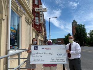 Vrabel.Donegal 300x225 - B&B of Lehigh Valley & Donegal Deliver Checks to Area Non-Profits