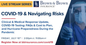 COVID19 Webinar Social Graphic No.13 300x157 - July 10th Live Stream:  COVID-19 & Navigating Risks