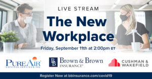 COVID19 Live Stream Series 300x157 - September 11th Live Stream:  The New Workplace