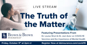 COVID19 Live Stream Series No. 19 300x157 - October 9th Live Stream:  The Truth of the Matter